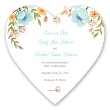 Sweetheart Floral - Pool - Save the Date