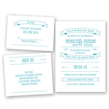Happily Ever After - Malibu - Invitation Bundles