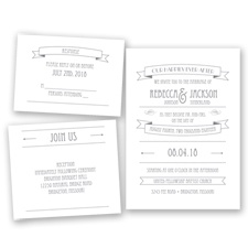 Happily Ever After - Mercury - Invitation Bundles