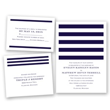Stripe Appeal - Lapis - Invitation Bundles