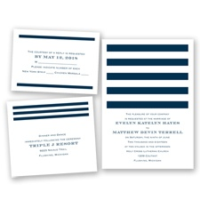Stripe Appeal - Peacock - Invitation Bundles