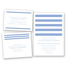 Stripe Appeal - Bluebird - Invitation Bundles