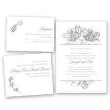 Tulip Romance - Mercury - Invitation Bundles