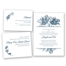 Tulip Romance - Peacock - Invitation Bundles