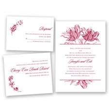 Tulip Romance - Apple - Invitation Bundles