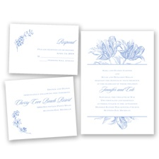 Tulip Romance - Bluebird - Invitation Bundles