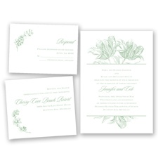 Tulip Romance - Meadow - Invitation Bundles
