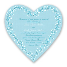 Hearts in Harmony - Malibu - Invitation