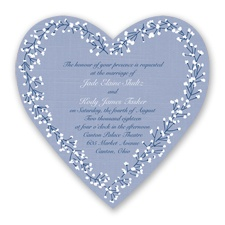 Hearts in Harmony - Marine - Invitation
