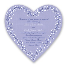 Hearts in Harmony - Regency - Invitation