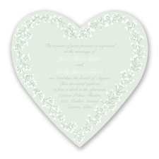 Hearts in Harmony - Meadow - Invitation