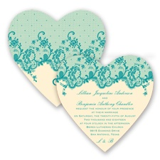 Charming Lace - Malibu - Invitation