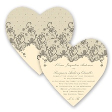 Charming Lace - Mercury - Invitation