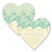 Charming Lace - Pool - Invitation