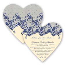 Charming Lace - Regency - Invitation