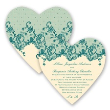 Charming Lace - Oasis - Invitation