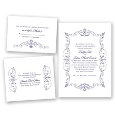 Splendor of Romance - Lapis - Invitation Bundles