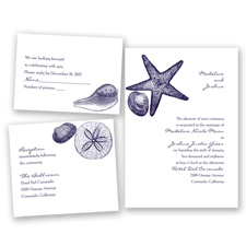 Seashore Treasures - Lapis - Invitation Bundles