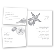Seashore Treasures - Mercury - Invitation Bundles