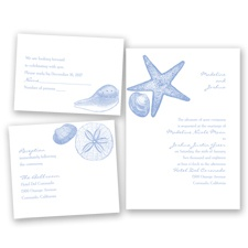 Seashore Treasures - Bluebird - Invitation Bundles