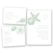Seashore Treasures - Meadow - Invitation Bundles