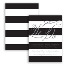 Wedding Bands - Mercury - Invitation