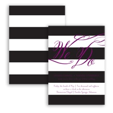 Wedding Bands - Sangria - Invitation
