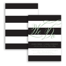 Wedding Bands - Meadow - Invitation