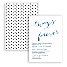 Polka Dots Forever - Horizon - Invitation