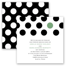 Spot On Love - Clover - Invitation