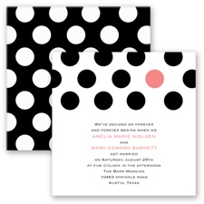 Spot On Love - Coral Reef - Invitation
