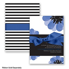 Mod Blooms - Horizon - Invitation