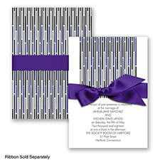 Splash of Color - Regency - Invitation