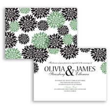 Delightful Floral - Clover - Invitation