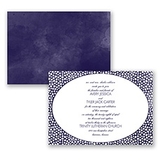 In The Spotlight - Lapis - Invitation