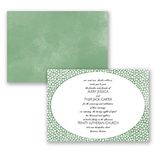 In The Spotlight - Clover - Invitation