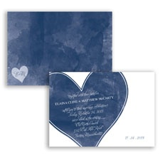 Ombre Heart