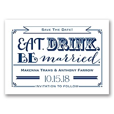 Be Married - Marine - Save the Date