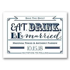 Be Married - Peacock - Save the Date