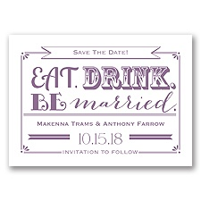 Be Married - Wisteria - Save the Date