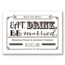 Be Married - Chocolate - Save the Date