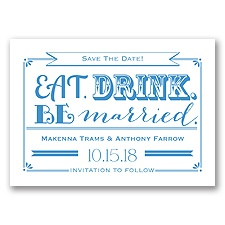 Be Married - Cornflower - Save the Date