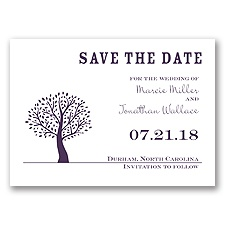 Harmony - Plum - Save the Date