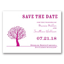 Harmony - Begonia - Save the Date