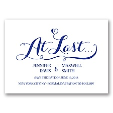 Love At Last - Regency - Save the Date
