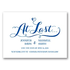 Love at Last - Horizon - Save the Date