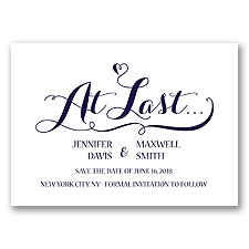 Love at Last - Lapis - Save the Date
