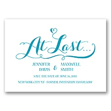 Love at Last - Malibu - Save the Date