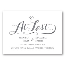 Love at Last - Mercury - Save the Date