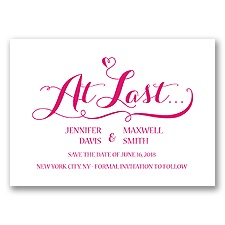 Love at Last - Watermelon - Save the Date